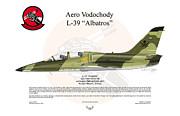 Aero Vodochody Albatros Print by Arthur Eggers