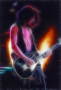 Aerosmith Art - Aerosmith-Joe-94-GB26A-Fractal by Gary Gingrich Galleries