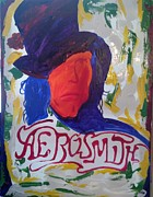 Steven Tyler Painting Originals - Aerosmith by Michael Greeley