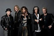 Musician Photos - Aerosmith Rock Legends by Sanely Great