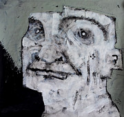 Face Mixed Media Prints - AETAS No 10 Print by Mark M  Mellon