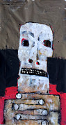 Abstract Expressionism Mixed Media - AETAS No 6 by Mark M  Mellon