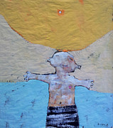 Abstract Expressionism Mixed Media - AETAS No 7 by Mark M  Mellon