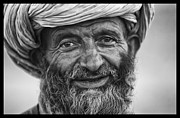 Looking At Camera Framed Prints - Afghan Herdsman Framed Print by David Longstreath
