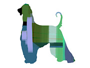 Hound Art - Afghan Hound 1 by Irina  March