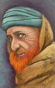 Osama Originals - Afghan Man With Red Beard by Melinda Saminski