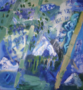 Politics Paintings - Afghan Spring by Barlow Matheson