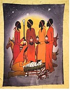 Ecce Prints - African Christmas Print by Sam Mart