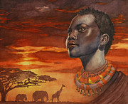 Jewelry Originals - African Dream by Isabella Kung