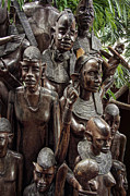 Tribal Art Photos - AFRICAN FAMILY TREE of LIFE by Daniel Hagerman