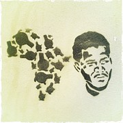 Urban Art Photos - African Icon by Neil Overy