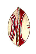 Michael Vigliotti - African Maasai War Shield