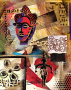 Afro Aesthetic B Print by Everett Spruill