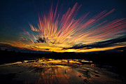 Time Stack Prints - After Burn Print by Matt Molloy
