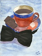 Black Tie Painting Posters - After Dinner Mints Poster by John Williams