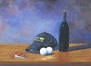 Bottle Cap Painting Posters - After Eighteen Poster by Jerry Walker