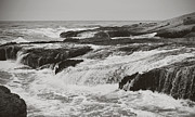 Rough Waters Prints - After the Crash Print by Laurie Search