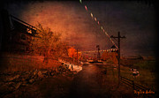 Rural Decay  Digital Art - After the Fair by Kylie Sabra