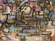 Paul Klee - After The Flood by Paul Klee