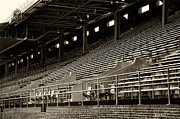 Bleachers Art - After the Game - Franklin Field Philadelphia by Bill Cannon
