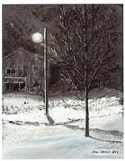 Ice Pastels Posters - After the Ice Storm Poster by Sue Lewis