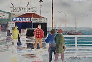California Beaches Originals - After the Rain by John  Svenson