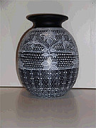 Lace Ceramics - After the Rodeo Dance Vase by Jennifer Lake