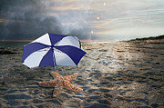 Storm Digital Art - After the Storm by Betsy A Cutler East Coast Barrier Islands