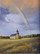 Storm Prints Originals - After The Storm by Bev Finger