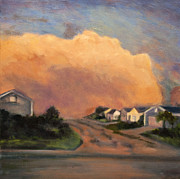 Storm Clouds Paintings - After the Storm I by Leisa Shannon Corbett