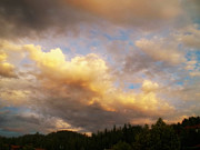 Cloud Formations Prints - After The Storm -  Lake Arrowhead Print by Glenn McCarthy Art and Photography