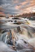 Great Falls Park Posters - After the Storm Poster by Rick Barnard