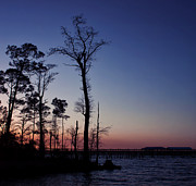 Florida Panhandle Prints - After the Sun Goes Down Print by Kim Hojnacki