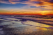 Eyzen Medina Framed Prints - After the Sunset 2 Framed Print by Eyzen Medina