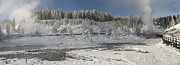 Sandra Bronstein - Afternoon at Mud Volcano Area - Yellowstone National Park