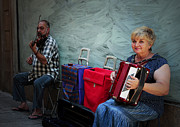 Tunes Photos - Afternoon Entertainers by John Stuart Webbstock