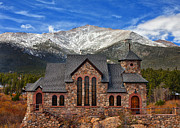 Colorado Mountain Prints Prints - Afternoon Mass Print by Darren  White