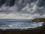 Laura Iverson - Afternoon Rain over Pacifica