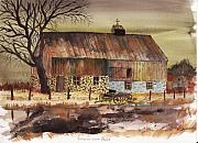 Barn Storm Prints - Afternoon Storm Passed Print by Jack G  Brauer