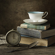 Knowledge Prints - Afternoon Tea Print by Amy Weiss