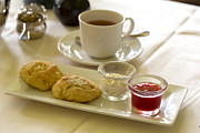 Cup Of Tea Photos - Afternoon tea by Louise Heusinkveld