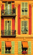 Azur Framed Prints - Afternoon Windows Framed Print by Inge Johnsson