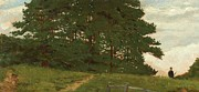 Norfolk; Painting Prints - Afternoon  Wootton Print by Henry Stacey Marks