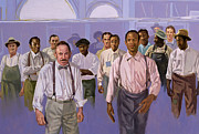 African American Paintings - Against All Odds by Colin Bootman