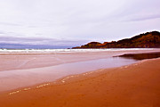 Agate Beach Or Art - Agate Beach Oregon with Yaquina Head Lighthouse by Author and Photographer Laura Wrede