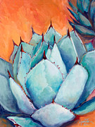 Southwestern Paintings - Agave 1 by Athena  Mantle