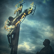 Crucifixion Photos - Agfacolor Jesus by Taylan Soyturk