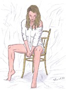 Agnieszka Print by Steven White