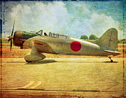 Oldzero Photos - Aichi D3A Val Dive Bomber by Steve Benefiel