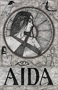 Aida Print by Alan  Hawley